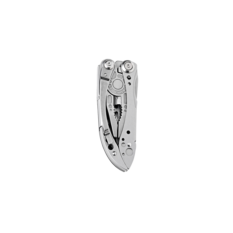 Leatherman freestyle multi-tool, closed view, stainless steel