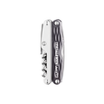 Leatherman juice c2 multi-tool, granite, 12 tools, closed view