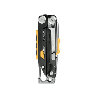 Leatherman signal multi-tool, stainless steel, closed reverse view, 19 tools