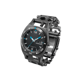 Leatherman tread tempo multi-tool watch in black, 30 tools, right side
