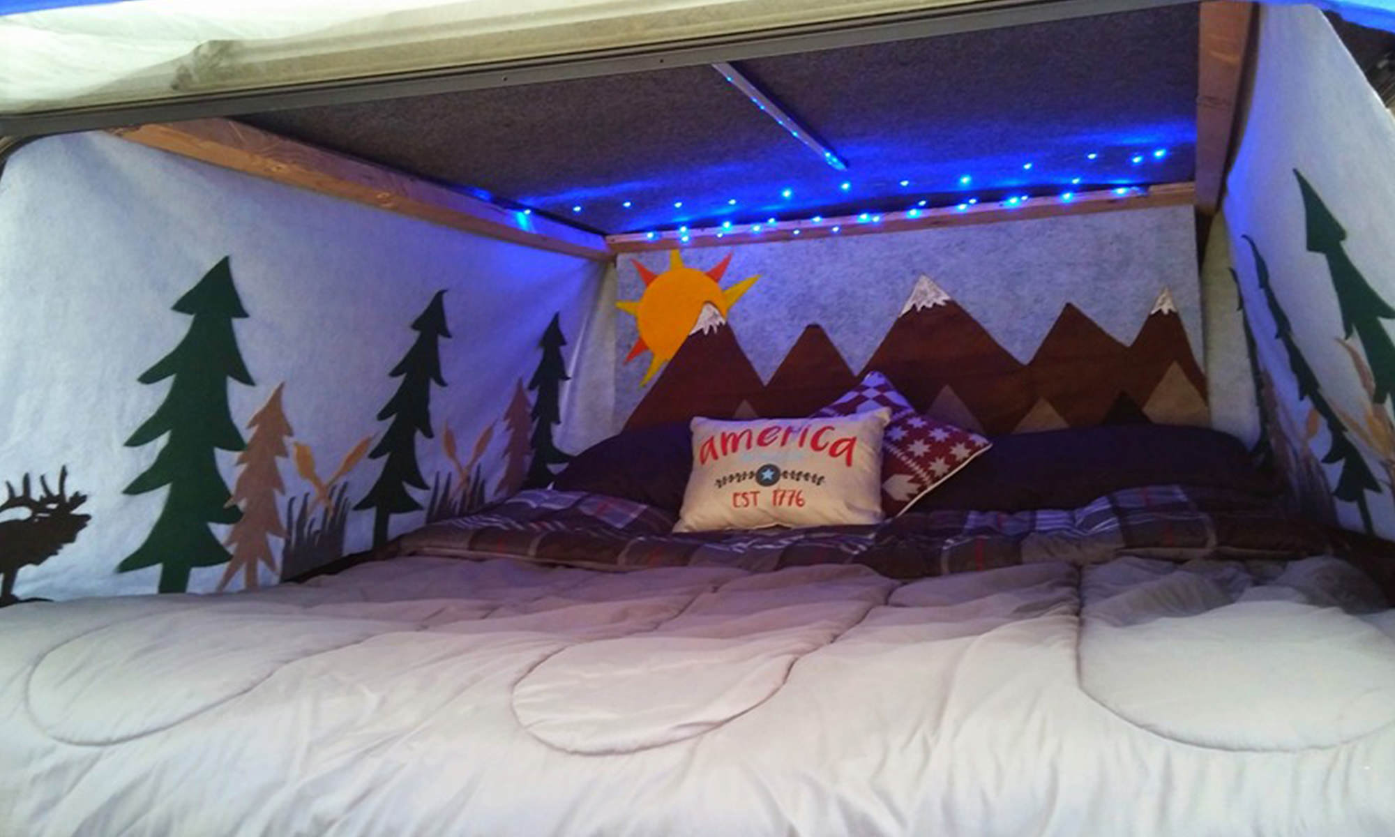 DIY Vehicle Camping Curtains