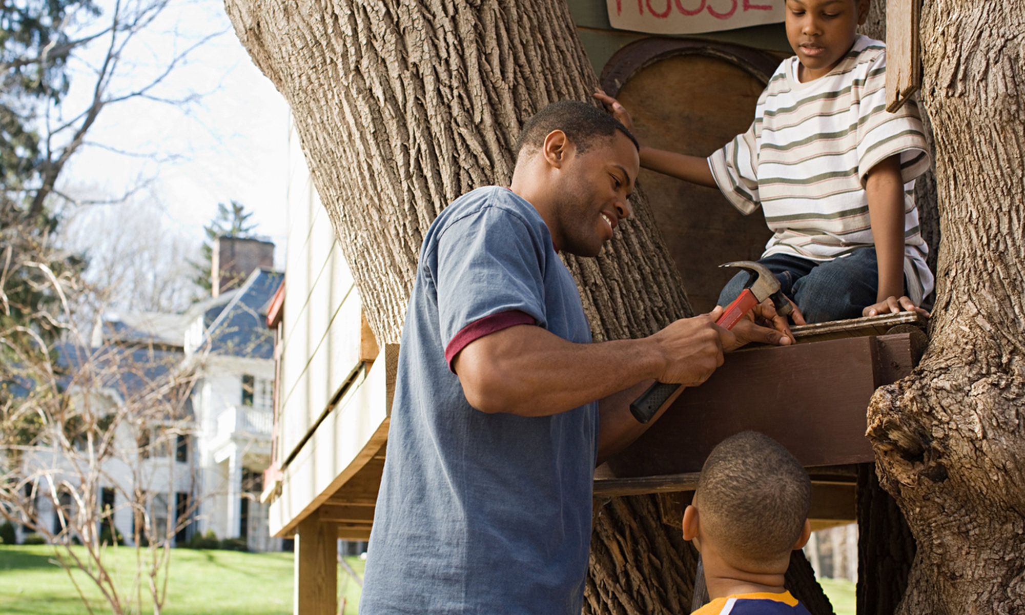 kid project treehouse