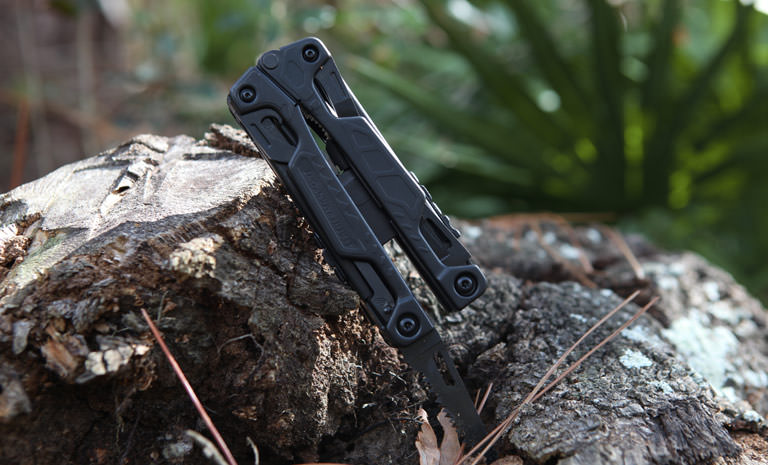 Leatherman OHT multi-tool, black, outdoor use