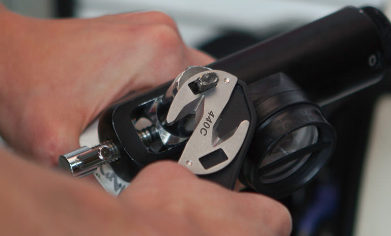 Leatherman z-rex multi-tool in hand