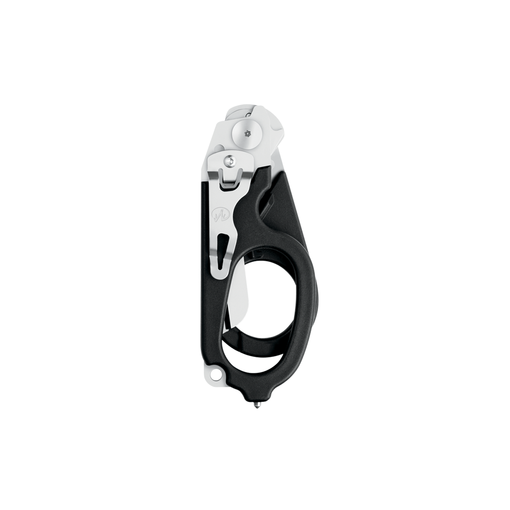 Leatherman Signal shears, black, closed view